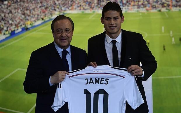 James Rodriguez Real Madrid - The 18 Yard Box