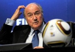 Sepp Blatter Fia Corrupt - The 18 Yard Box