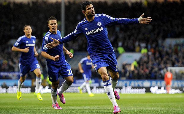 Diego Costa Chelsea Goal - 18 Yard Box Football Blog